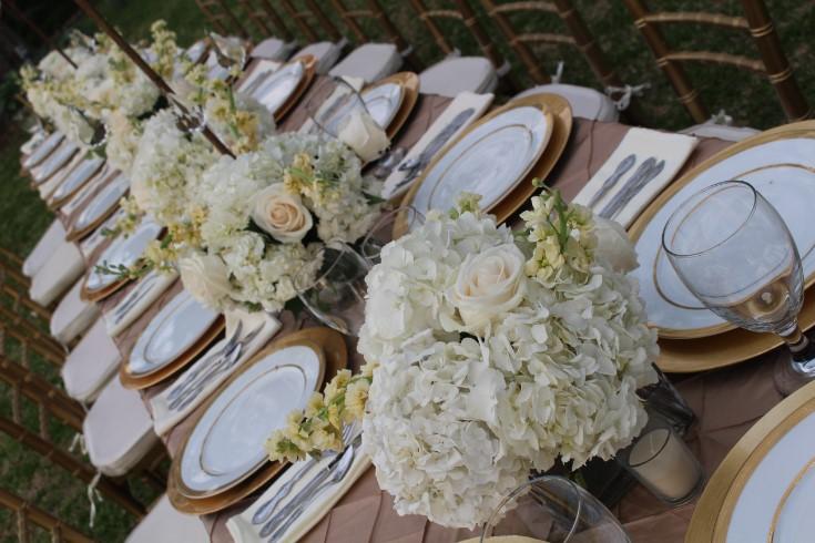 Tablescape Hattiesburg Mississippi Weddings